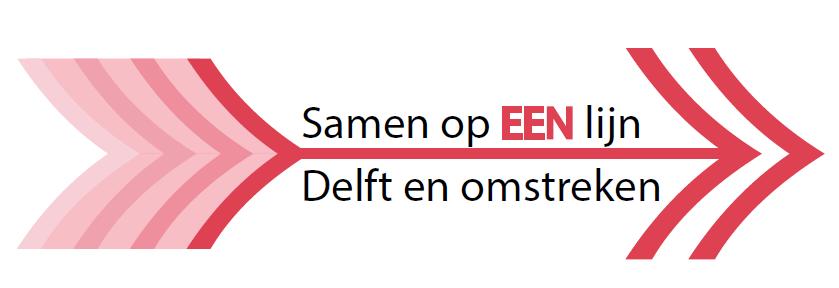 Logo samen op een lijn